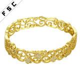 Hot Sale Charm Jewelry Gold Plated CZ Diamond Female Bracelet