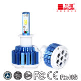 Pass Ce Emark RoHS DOT ISO9001 35W 6000K T3 H3 LED Automobile Lighting