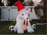 Inflatable Snoopy Dog for Christmas/Inflatable Dog for Advertising