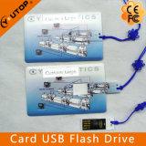 Sliding Card USB Flash Drive 1/2/4/8/16/32/64GB (YT-3109)