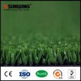 Flat Shape 10mm Tennis Sport Artificial Grass with SGS