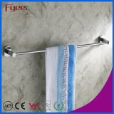 Fyeer Chrome Plated Solid Brass Single Towel Bar