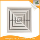 Ceiling Supply Air Diffuser, Square Diffuser for Air Conditioning