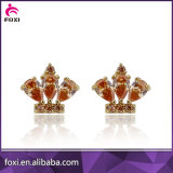 Fancy Design Zircon Handing Stud Earring for Women