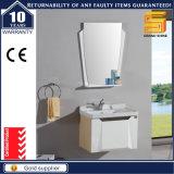 24′′ High Gloss White Lacquer Bathroom Cabinet Unit