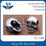 Fashion Stainless Steel Skull Bead jewelry Logo Bead