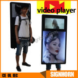 New Technology Outdoor Backpack Advertising Display