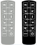 Customized Embossed Membrane Switch Overlay Panel for Computer and LCD Screen