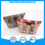 2016 Popular Best Sale Dumplings Shape Fabric with Lamination Cosmetic Bag