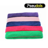 Soft Feeling Cotton Fabric Colorful Headband Sweatband for Outdoor Sports