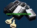 Combination Padlock with Key
