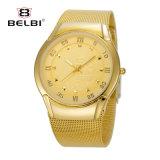 Belbi Business Ship Dial Design Quartz Movement Men Wristwatch