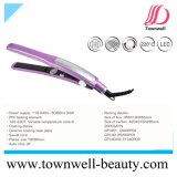 Professional Hair Flat Iron with Ceramic Coating Ploating Plates