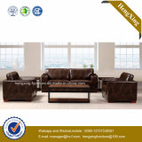 Modern Office Furniture Genuine Leather Couch Office Sofa (HX-CF020)