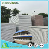 Color Steel Rockwool/Glasswool/EPS Sandwich Wall Panel for Steel Structure
