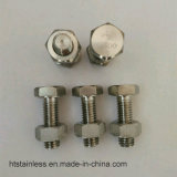 DIN931 Hastelloy 2.4600 B3 N10675 Hex Bolt Nut and Washer