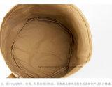 Washable Kraft Paper Bag / Handbag Simple Style Waterproof Reuseable Kraft Paper Canvas Hand Bag