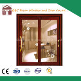 Double Glazing Exterior Interior Bi-Folding 2 Panel Sliding Door