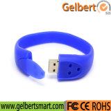 2016 Hot Sale Gift Custom PVC USB Flash Drive Bracelet
