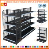Steel Back Wire Mesh Net Display Shelving Supermarket Shelf (Zhs41)
