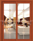 Office Partition Aluminium Sliding Door with Blinds