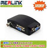 BNC S-Video Video to VGA Converter