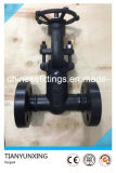 CE Pressure Seal Bonnet Metal Seated Flanged Forged Gate Valve
