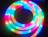 CE EMC LVD RoHS Two Years Warranty, RGB LED Neon Flex Rope Light-