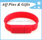 Silicone Bracelet with Segmented Colors