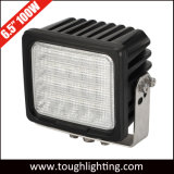 """E-Approved 6.5"""" 100W Square Heavy Duty LED Work Lights for Mining"""