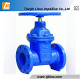 DIN3352 Standard Flanged Joint Ends Resilient Wedge Gate Valve
