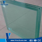 Clear/Grey/Blue Laminated Glass for Building Glass with Csi (L-M)