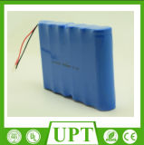 Rechargeable 18650 3s2p 11.1V 4600mAh Li-ion Battery for LED Street Light Back up Battery