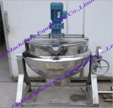 Stainless Steel Steam Heating Jacketed Cooking Agitator Kettle (50-1000L)