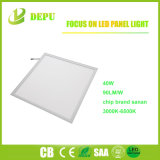 CRI80 4000K 40W LED Panelen LED Flat Panel Light 620X620