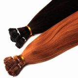 100% Human Hair Stick Tip Hair Extension Silky 20inches