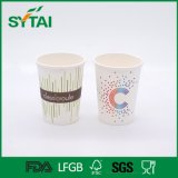 PE Coated Custom Logo Design Disposable Recycled Paper Coffee Cup