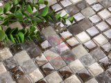 Glitter Crystal Cracked Glass Mosaic Tile (CC142)