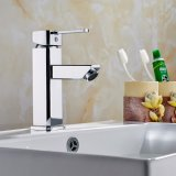 Hot Sale Bathroom Waterfall Tap Mixer Brass Basin Faucet