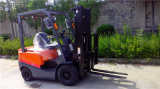 Supply Two Stage 5m Hight Mast Small Diesel Forklift Truck