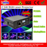 2W RGB Full Color Laser Light DJ Lights