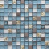 Stainless Steel/Sea Shell Mixed Crystal Glass Mosaic for Wall Tile (HSD29)