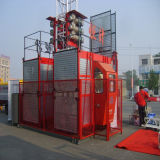 Construction Elevator Sc200/200 Double Cage Max Capacity 2t