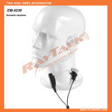 Acoustic Tube Earpiece Suveillance Kit Earphone for Two Way Radio