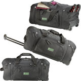 Travelling Trolley Duffel Bag with Shoes Pocket (MS2085)