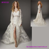 Hot Selling Morden Style Tulle Wedding Dress Bridal Full Lace Dress