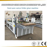 Semi-Automatic Carton Box Folder Gluer