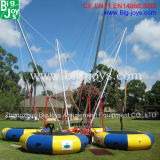 Ce Standard Inflatable Bungee Trampoline, Professional Bungee Trampoline