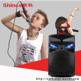 Bluetooth Trolley Speaker with FM Radio