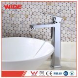 New Design Modern Bathroom Basin Faucet with Triple Chrome Finish
